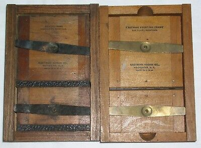2 Vintage Eastman Kodak Printing Frames, for 3.25 x 5.5 negatives