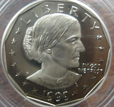 1999-P Proof Susan B Anthony Dollar Pcgs Pr69Dcam 06162018