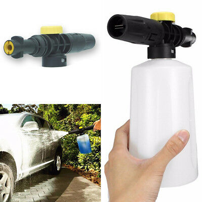 Universal 0.7L Foam Gun Watering Can Car Wash Soap Sprayer with Adjustable Valve