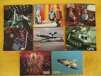Thunderbirds Post Card Gerry Anderson Ufo Stingray Rescue Puppet Tv Show Cartoon