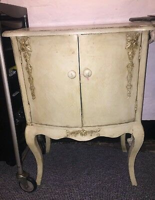 French style storage unit cabinet shabby chic vintage antique Arighi Bianchi