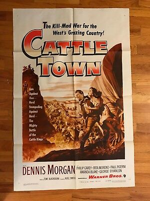 CATTLE TOWN- One-Sheet