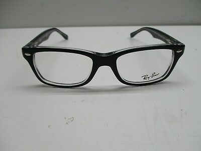 352fa5fca3b RAY BAN JUNIOR RY1531 RB1531 3529 46 16 Black On Transparent Frames Display  Lens