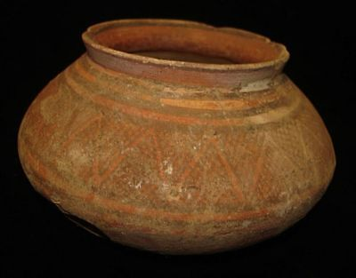 EBAY BEST!   ANCIENT PAINTED POT JUG BOWL  5000 years old! 3000BC~~~no reserve