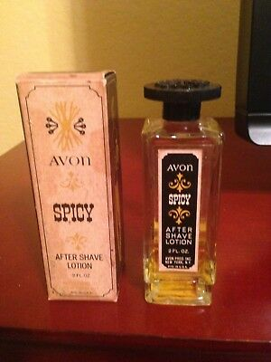 Avon Spicy After Shave Lotion Bottle - 1965