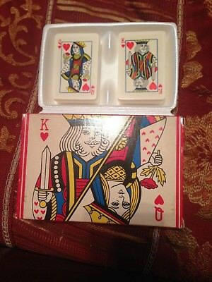 Avon Royal Hearts (King & Queen of Hearts) Soaps- Set of 2 Soaps - 1978