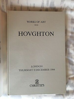 Auction Catalogue Christie's London Works of Art From Houghton Dec 8, 1994 HCDJ