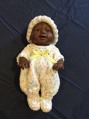 Hand Knitted Dolls Clothes For Chubby 8 Inch Doll