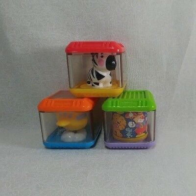 Fisher Price Peek A Boo Sensory Block Replacement Toy Lot 10