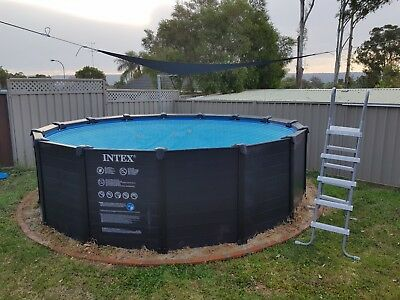 used intex swimming pool and sand filter