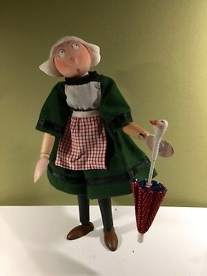 Apprentice Becassine doll - fully poseable French character - Bleuette friend