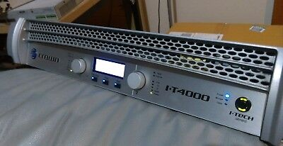 Crown itech 4000 Amp