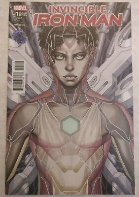 Invincible Iron Man #1 Legacy Edition Copic Variant Artgerm NM