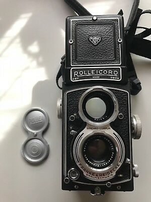 Rolleicord Va Exc Condition Film Tested With Manual and Original Rollei Box