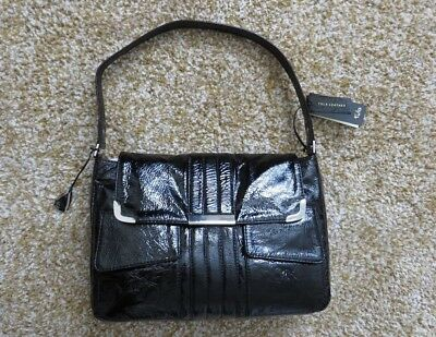 Radley - Tula Ladies Black Patent Leather Shoulder Bag brand new with tags
