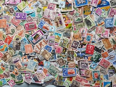 Selection of 500 stamps  from  Middle East- used- good condition-