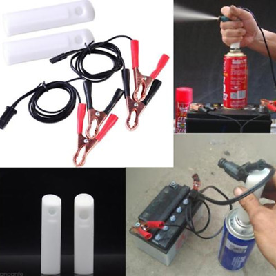 Universal Fuel Injector Flush Cleaner Adapter DIY Kit Set Auto Car Vehicles Tool
