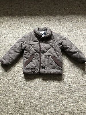 Bows And Arrows Boys Brown Tweed Jacket - Size 2-3 Years
