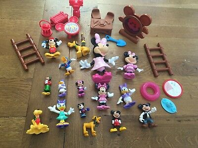 Mickey Mouse Clubhouse Figures, Minnie Mouse, Pluto etc Assorted Sizes