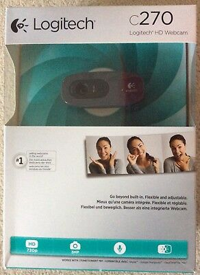 Logitech webcam C270 Model New In Box