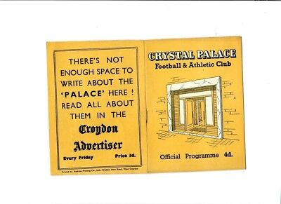 Crystal Palace v Ipswich Town (FA Cup Round 3) - 04/01/1958