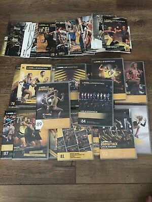 Les Mills Body Attack DVD Kits (27 in total)