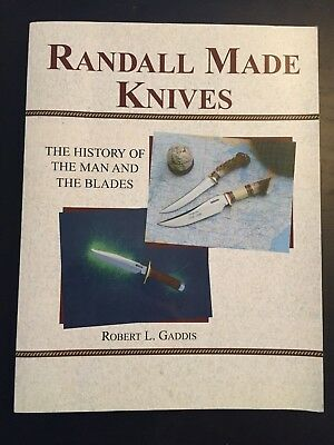 Randall Knife Randall Knives Book History Of The Man And Blades Usa  Messer Buch