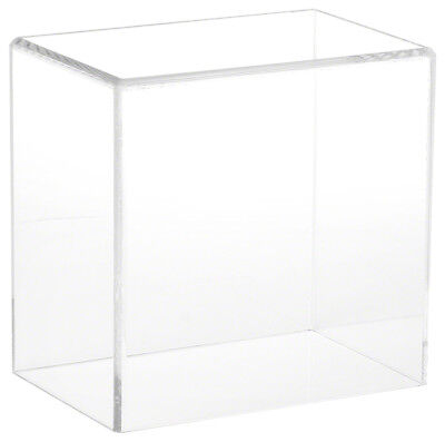 """Plymor Brand Clear Acrylic Display Case with No Base, 6"""" W x 4"""" D x 6"""" H"""