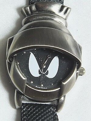 Marvin The Martian 3D Helmet Warner Bros Armitron Watch Novelty