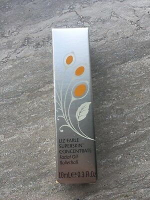 Brand New & Sealed Liz Earle Superskin Concentrate Facial Oil Rollerball 10ml