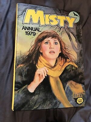 Misty Vintage Annual 1979 Comic Fleetway Book Unclipped