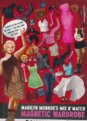 MARILYN MONROE MIX N/' MATCH MAGNET WARDROBE *SOME LIKE IT HAUTE* DRESS-UP KIT