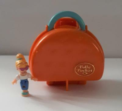 Vintage Polly Pocket, Italian Holiday 1996, with original doll, ULTRA RARE