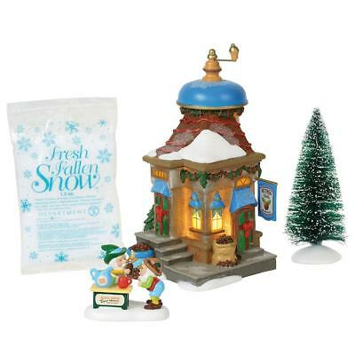 Department 56 North Pole Village New 2018 NUTMEG NOOK BOXED SET OF 4 6000617