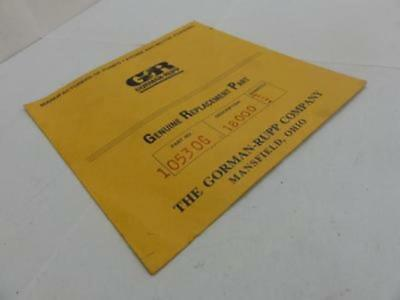33235 New In box, Gorman Rupp 10530G Gasket, 18000