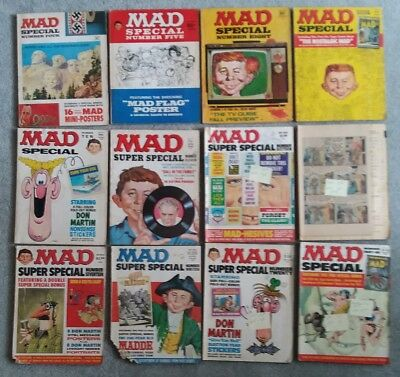 23 Mad Magazine Super Specials [1970-1990s] Varying Condition, Mostly High Grade