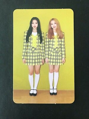 LOONA Monthly Girl: Olivia Hye & Gowon photocard kpop