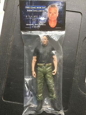 Stargate SG-1 Gen. Jack O'Neill figure Free Comic Book Day 2006 Exclusive - New
