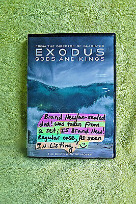Brand New/un-Sealed Dvd! No Wrapper! Exodus: Gods & Kings, Epic Story Of Moses!
