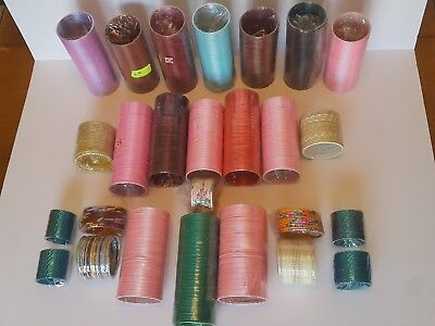JOB LOT of MIXED BUNDLE INDIAN BANGLES VARIOUS COLOURS
