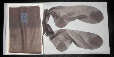 Lot Of 3 Sheer Vintage Penney's 33 Long Flat Knit Rht  Stockings !!! L@@k!!!