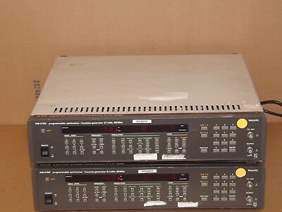 Philips PM5193 Programmable Synthesizer / Function Generator 0.1mHz - 50MHz