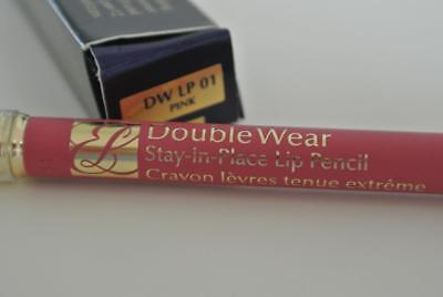 Estee Lauder Double Wear Stay In Place Lip Pencil #01 Pink New In Box