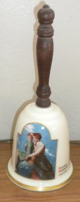 """Vintage Gorham 1986 China Bell """" ON TOP OF THE WORLD""""  B21"""