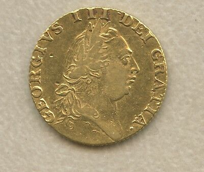 Historical Gold Coin Great Britain George III Gold Guinea 1788 XF