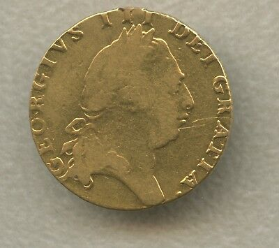 Great Britain George III Gold Guinea 1794 Crowned Four Fold Spade Arms
