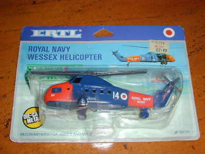 Early Vintage Ertl Royal Navy Wessex 'search And Rescue' Helicopter - Rare -Misp