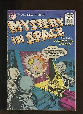 Mystery in Space 26 VG+ 4.5 * 1 Book * Golden Age DC 1955! Gene Colan! Gil Kane!
