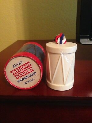 Avon Yankee Doodle (Drum) Soap on a Rope - 1969