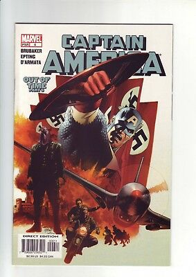 Captain America #6 (2005, Marvel) 1st Appearance of the Winter Soldier
